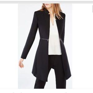 BCBG Black A Line coat